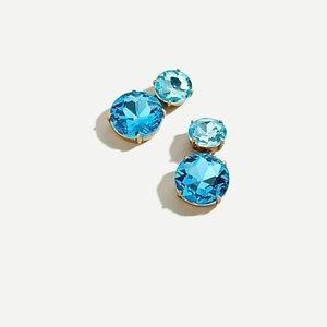 ✨NWT✨J. CREW // Two gem drop earrings
